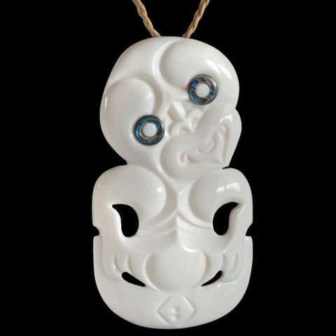 New Zealand Maori Tiki Necklace