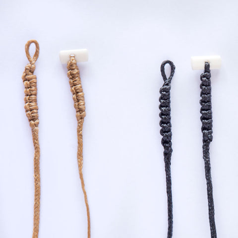 Braid Cords with Bone Toggles