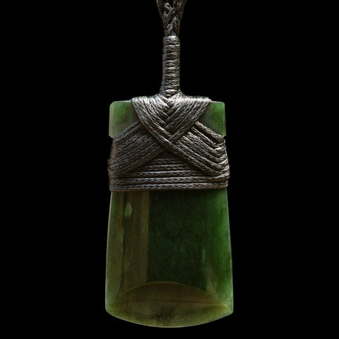 Small Jade Toki Pendant by Bill Goodwin (2 Sizes)