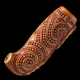 Traditional Maori Bone Nguru Flute by Yuri Terenyi