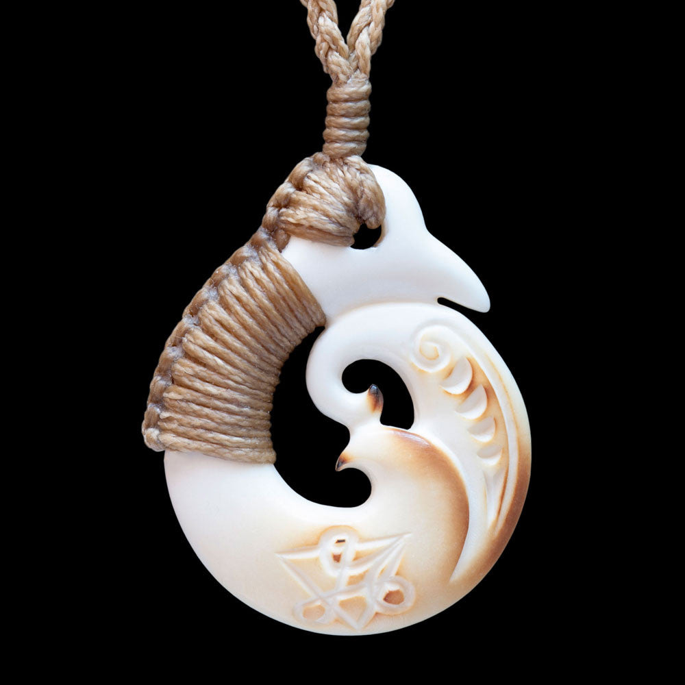Andrew Savage Koru Necklace