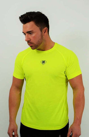 Gym Logo T-Shirt - Yellow