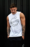 Cut Off T-Shirt - White