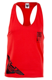 Hem Logo Racer Back Vest - Red