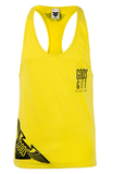 Hem Logo Racer Back Vest - Yellow