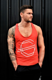 GG Logo Racer Back Vest - Red