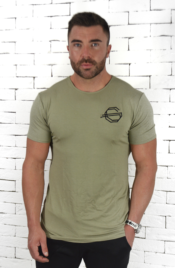 Basic Logo T-Shirt - Khaki