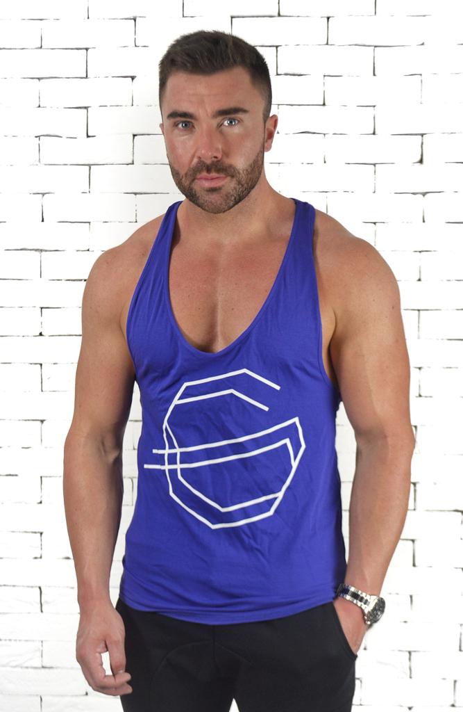 Logo Racer Vest - Royal Blue