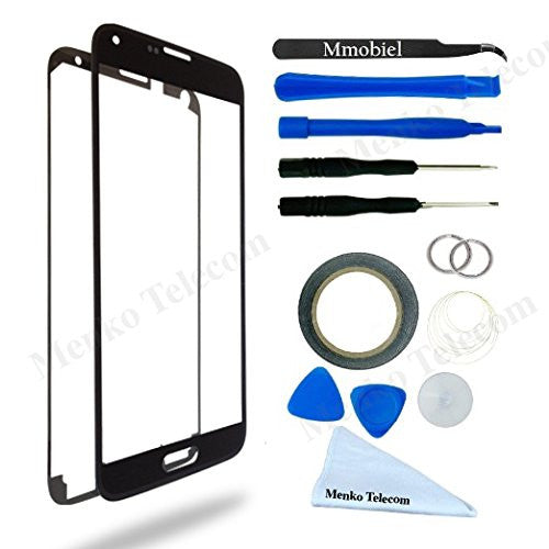 SAMSUNG Galaxy S5/S5 Neo Zwart Glas Scherm Display TouchScreen Incl. Toolkit