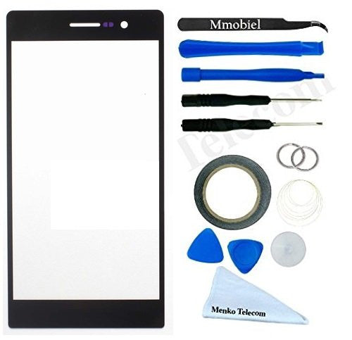 Huawei Ascend P7 Zwart Glas Scherm Display TouchScreen Incl. Toolkit
