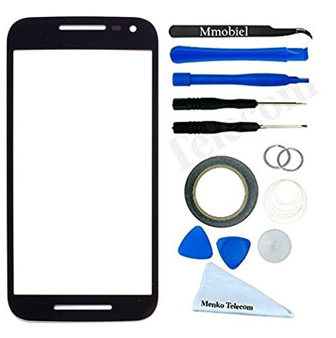 Motorola Moto G 2nd Gen G2 Zwart Glas Display TouchScreen Incl. Toolkit