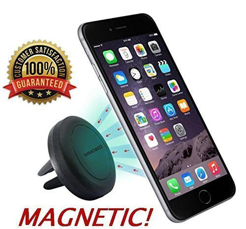 Universeel Ventilatie Rooster Air Vent Magnetische CAR MOUNT HOLDER Auto Houder voor iPhone 4 4S 5 5S 5C 6 6S Plus SE 7 7 Plus, SAMSUNG Galaxy S3 S4 S5 S6 Note 2 3 4 5