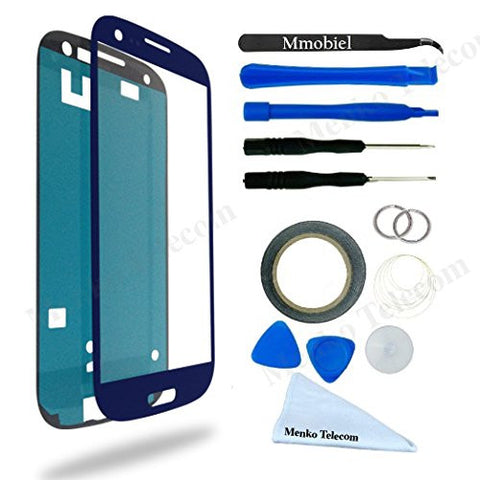 SAMSUNG Galaxy S3 Blauw Glas Scherm Display TouchScreen Incl. Toolkit