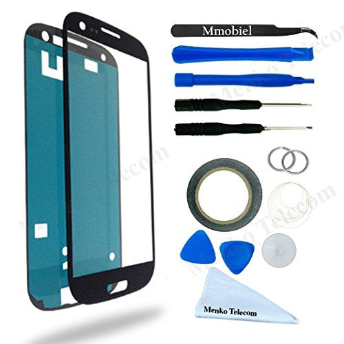 SAMSUNG Galaxy S3 mini Blauw Glas Scherm Display TouchScreen Incl. Toolkit