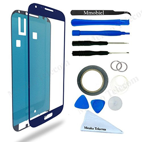 SAMSUNG Galaxy S4 Blauw Glas Scherm Display TouchScreen Incl. Toolkit