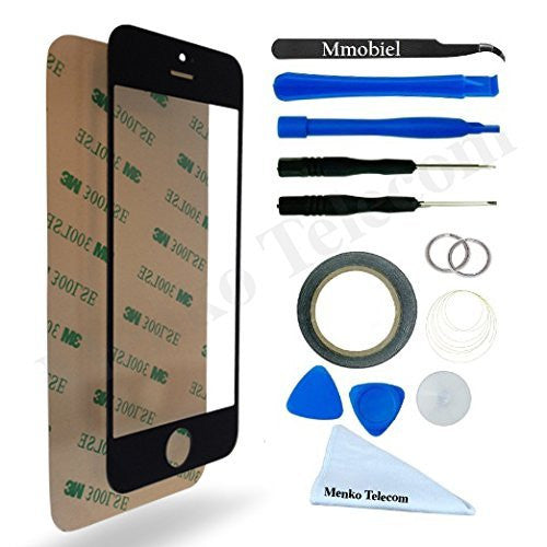 iPhone 5 5C 5S SE Zwart Glas Scherm Display TouchScreen Incl. Toolkit