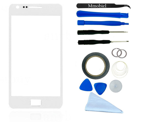 SAMSUNG Galaxy S2 Wit Glas Scherm Display TouchScreen Incl. Toolkit