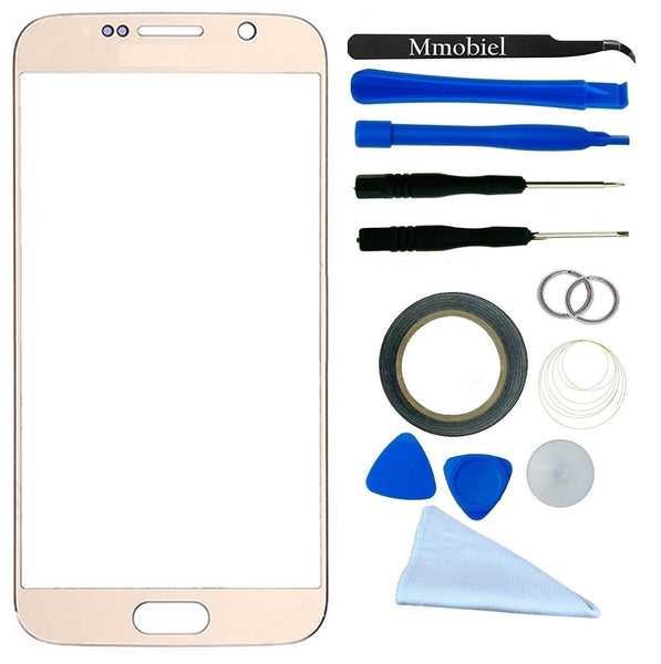 SAMSUNG Galaxy S6 Goud Glas Scherm Display TouchScreen Incl. Toolkit