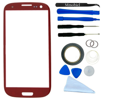 SAMSUNG Galaxy S3 Rood Glas Scherm Display TouchScreen Incl. Toolkit