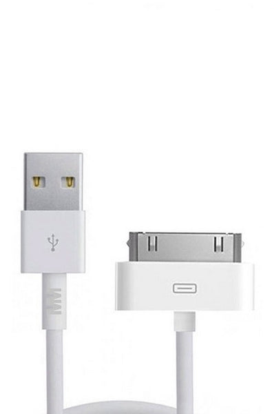MMOBIEL 1 x iPhone 30 PIN naar USB Kabel 3,2 ft (1.0 M) Sync en Laad Charging Dock Connector Oplaad Kabel