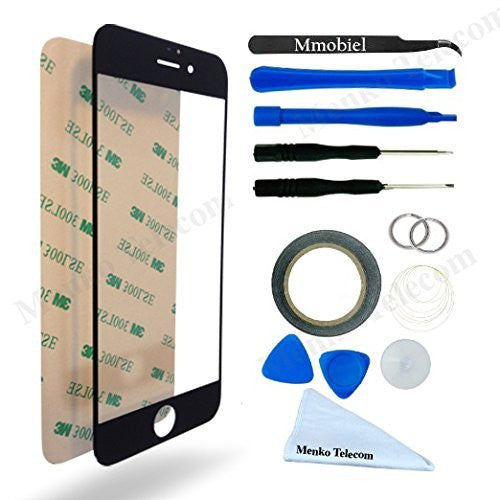 iPhone 6 Plus/6s Plus Zwart Glas Scherm Display TouchScreen Incl. Toolkit