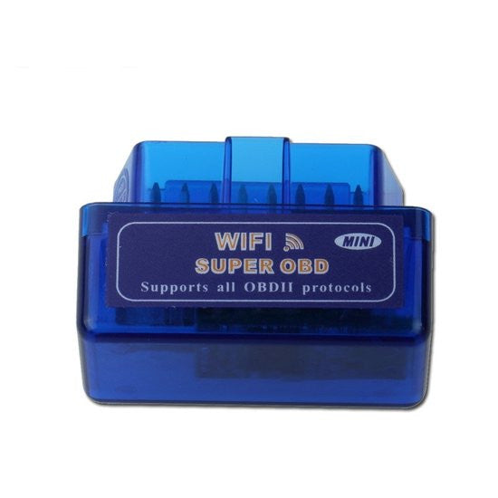 OBD2 Mini ELM327 Wifi / Diagnose Auto Interface / incl. Software / OBD2 OBD II Scanner Scan Tool Adapter / Check Engine Light / Auto Foutcode lezer / iOS iPhone iPad en Android