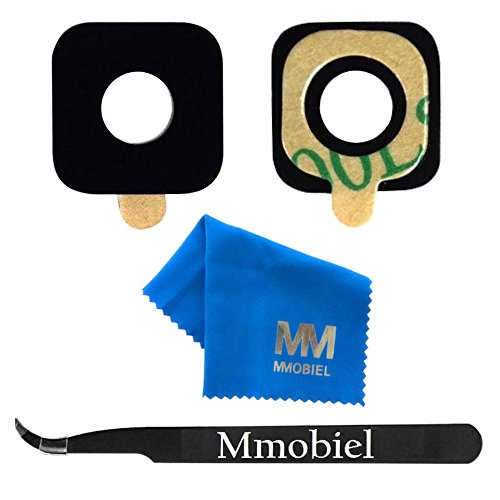 mmobiel camera Glass Lens Back Back camera vervanging + PRE-geïnstalleerd kleefkussens + Pincet voor Samsung Galaxy S7 G930/S7 Edge g935 Series + cloth