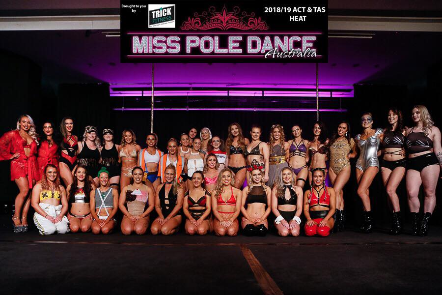 Miss Pole Dance ACT/TAS 2018