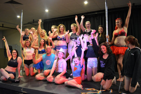 Wagga Pole Studio Pole Spectacular Vigorous Array Pole Dance Clothing