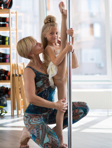 Child Pole Dancing