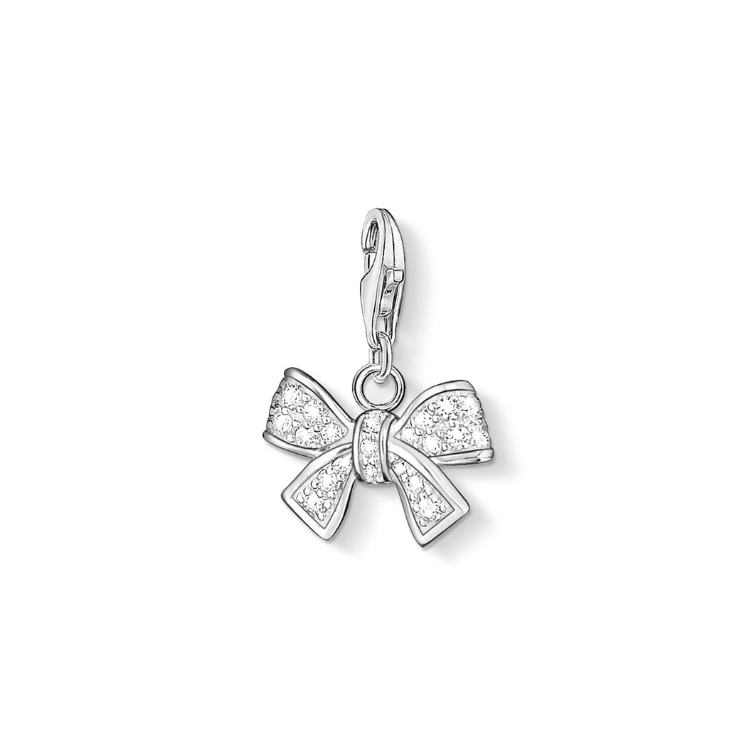 THOMAS SABO Charm Pendant Bow - Sterling Silver