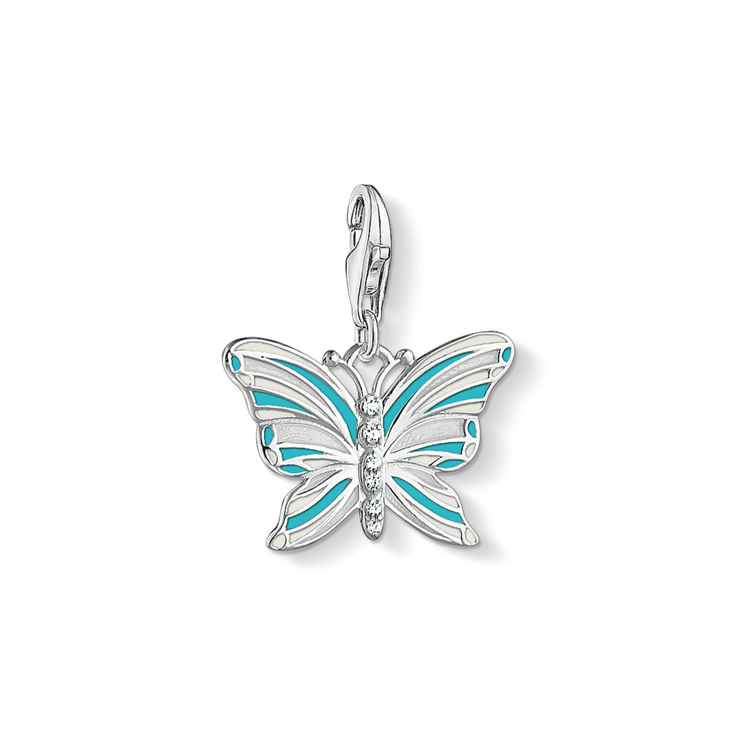 THOMAS SABO Butterfly Charm Pendant - Multicolor