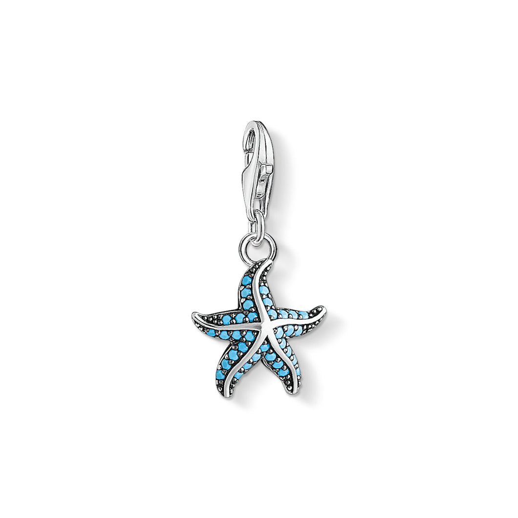 THOMAS SABO Starfish Charm Pendant - Multicolor