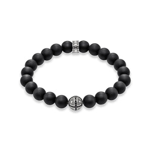 THOMAS SABO Cross Bracelet - Black