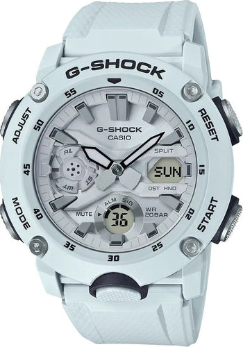 G-SHOCK Luminous Neobrite Men's Analog Digital Watch - White - Gemorie