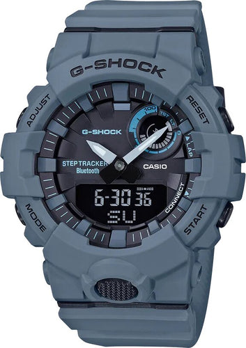 G-SHOCK Bluetooth Connectivity Men's Analog Digital Watch - Grey - Gemorie