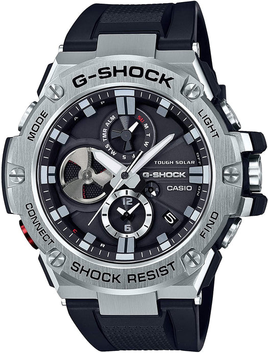 G-SHOCK GST-B100-1A Casio- BLACK AND SILVER - Gemorie