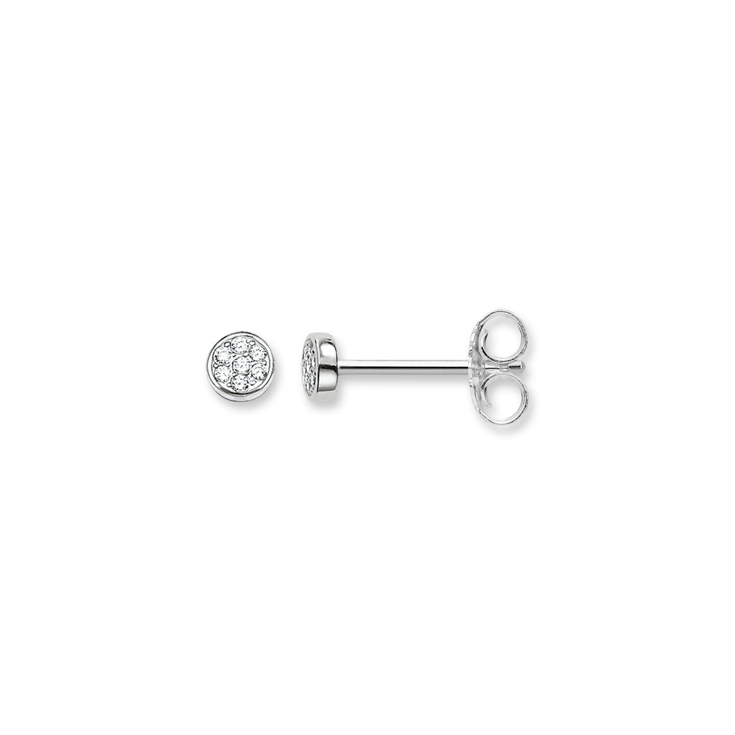 THOMAS SABO Ear Studs Sparkling Circles - Sterling Silver