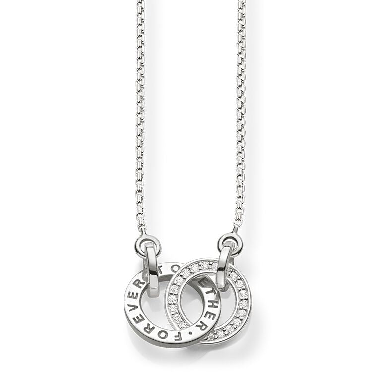 THOMAS SABO Together Forever Necklace - Sterling Silver