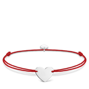 "THOMAS SABO ""LITTLE SECRET HEART""  STERLING SILVER BRACELER"