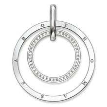Load image into Gallery viewer, THOMAS SABO Pendant Circles Pavé - Sterling Silver