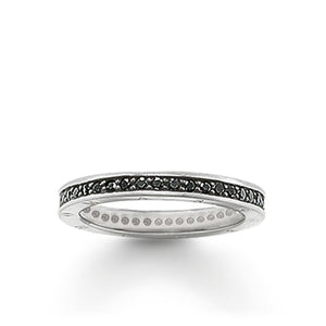 THOMAS SABO Ring Eternity Classic - Black