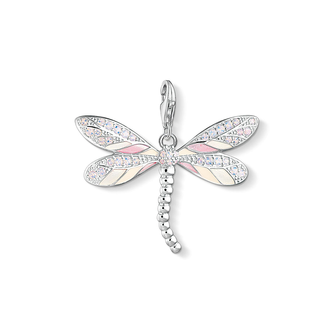 THOMAS SABO Charm Pendant Butterfly - Multicolor