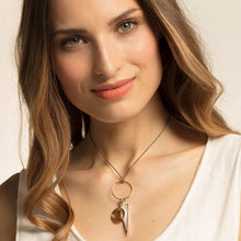 Load image into Gallery viewer, THOMAS SABO Charm Pendant Triangle Mother Of Pearl - Multicolor