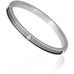 CHARRIOL Large Bangle Forever - Stainless Steel