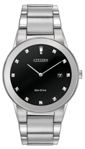 CITIZEN CITIZEN Axiom Men's Edge-To-Edge Glass Watch - Stainless Steel - Gemorie
