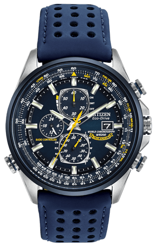 CITIZEN Blue Angels WORLD CHRONOGRAPH A-T - Gemorie