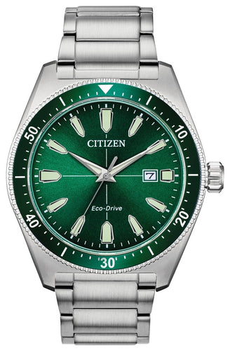 CITIZEN Brycen Solar-Powered Eco-Drive Watch - Stainless Steel - Gemorie