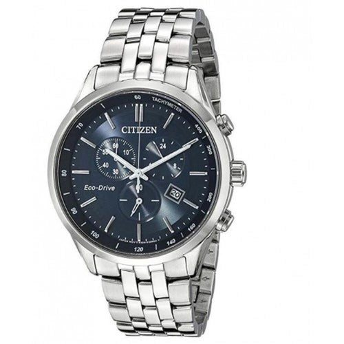 CITIZEN CITIZEN Eco-Drive Men's Chronograph Quartz Dial Watch - Stainless Steel - Gemorie