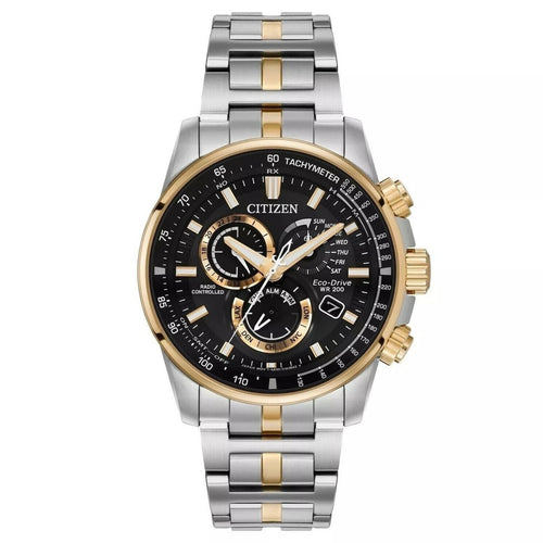CITIZEN Men's Two-Tone Round Bracelet Watch - Stainless Steel - Gemorie